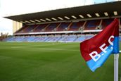 Turf Moor and Corner Flag mural wallpaper thumbnail