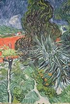 The Garden of Doctor Gachet at Auvers-sur-Oise, 1890 (oil on canvas) mural wallpaper thumbnail
