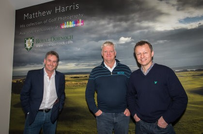 Exclusive New Matthew Harris Golf Wall Mural Collection
