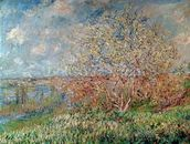 Spring, 1880-82 (oil on canvas) wall mural thumbnail