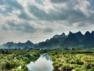 Yulong River Guilin, Yangshuo Guangxi wall mural thumbnail