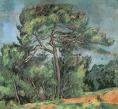 The Large Pine, c.1889 (oil on canvas) wall mural thumbnail
