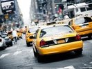 New York Cabs wall mural thumbnail