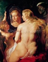 The Toilet of Venus, c.1613 (oil on canvas) wall mural thumbnail