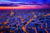 Paris Blues mural wallpaper thumbnail