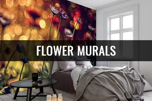 Blooming Lovely Flower Murals