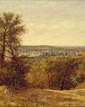 Dedham Vale, c.1802 (oil on canvas) wall mural thumbnail