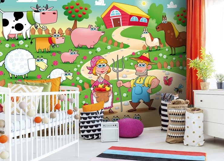 farm-wall-mural-in-nursery
