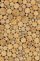 Stacked Logs Texture wall mural thumbnail