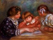 The Lesson, 1906 wall mural thumbnail