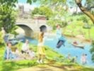 The Riverbank wall mural thumbnail