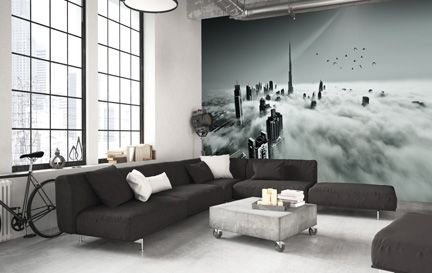Black And White Wallpaper Wall Murals Wallsauce Uk