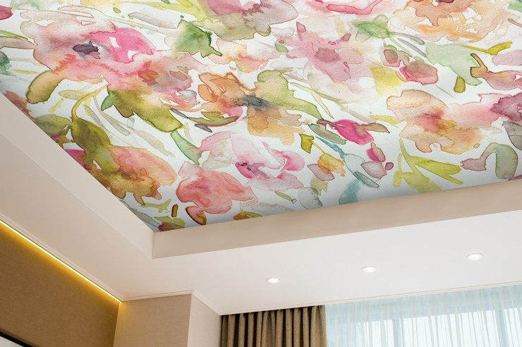 floral_ceiling_wallpaper