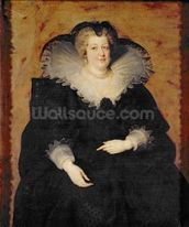 Marie de Medici, 1622 (oil on canvas) wallpaper mural thumbnail
