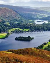 Grasmere from Silver Howe wall mural thumbnail