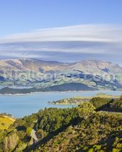 Banks Peninsula mural wallpaper thumbnail