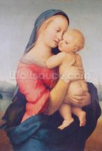 The Tempi Madonna, 1508 (oil on panel) wall mural thumbnail
