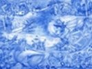 Blue Illustration wall mural thumbnail