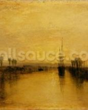 Chichester Canal, c.1829 mural wallpaper thumbnail