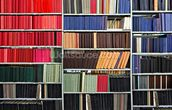 Colourful Library mural wallpaper thumbnail
