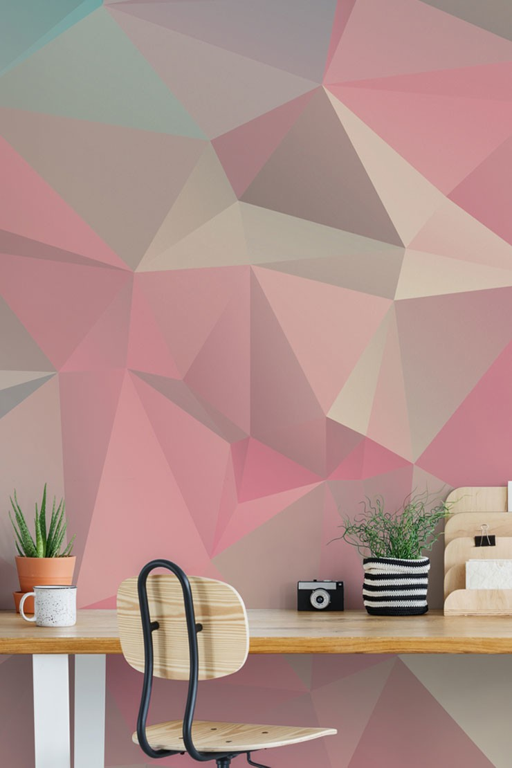 bold-geometric-wallpaper-in-home-office