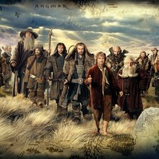 Thorin and Company, The Hobbit mural wallpaper