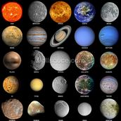 The Solar System wall mural thumbnail