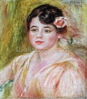 Portrait of Adele Besson, 1918 (oil on canvas) mural wallpaper thumbnail