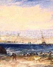 Margate, c.1822 (w/c on paper) wall mural thumbnail