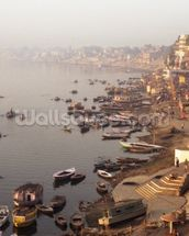 Varanasi, India wallpaper mural thumbnail