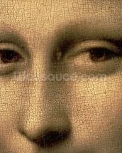 Mona Lisa, c.1503-6 (oil on panel) (detail of 3179) mural wallpaper thumbnail