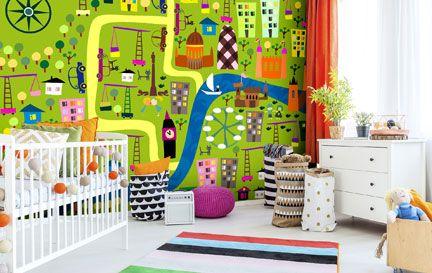 Kids Map Wallpaper Childrens Map Wall Murals Wallsauce Australia - Childrens wall map