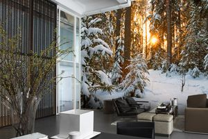 Christmas Wall Murals to Suit Every Type of Office