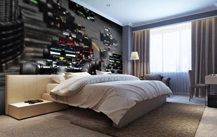 Formula One & Classic Motorsport Wallpaper Murals Wall Murals Wallpaper