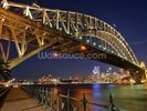 Sydney Harbour Bridge wall mural thumbnail
