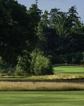 Sherfield Sunset, Sherfield Oaks Golf Club, Hampshire, England wall mural thumbnail