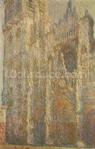 Rouen Cathedral, Midday, 1894 (oil on canvas) wall mural thumbnail