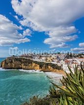 Algarve - Carvoeiro wallpaper mural thumbnail