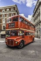 London Double Decker wall mural thumbnail