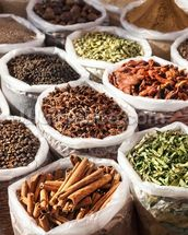 Indian Spice mural wallpaper thumbnail