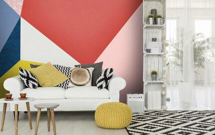 Colour Wallpaper Wall Mural