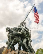 Iwo Jima in Washingron DC mural wallpaper thumbnail
