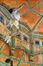 Miss La la at the Cirque Fernando, 1879 (oil on canvas) wall mural thumbnail