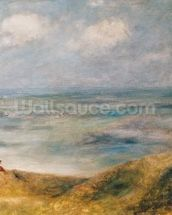 View of the Sea, Guernsey (oil on canvas) wall mural thumbnail