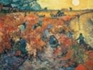 Red Vineyards at Arles, 1888 (oil on canvas) wall mural thumbnail