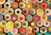 Pencil Pattern mural wallpaper thumbnail