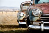Rusting Vintage Car wallpaper mural thumbnail