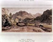 Sketch of Borrowdale, 1806, Afternoon wall mural thumbnail