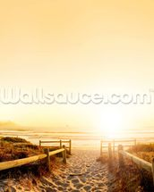 Sand Dune Sunset wall mural thumbnail