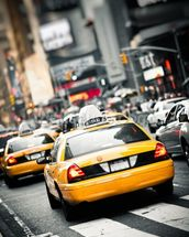 New York Taxis Cab wallpaper mural thumbnail